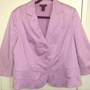 Light Purple Casual Blazer 14/16